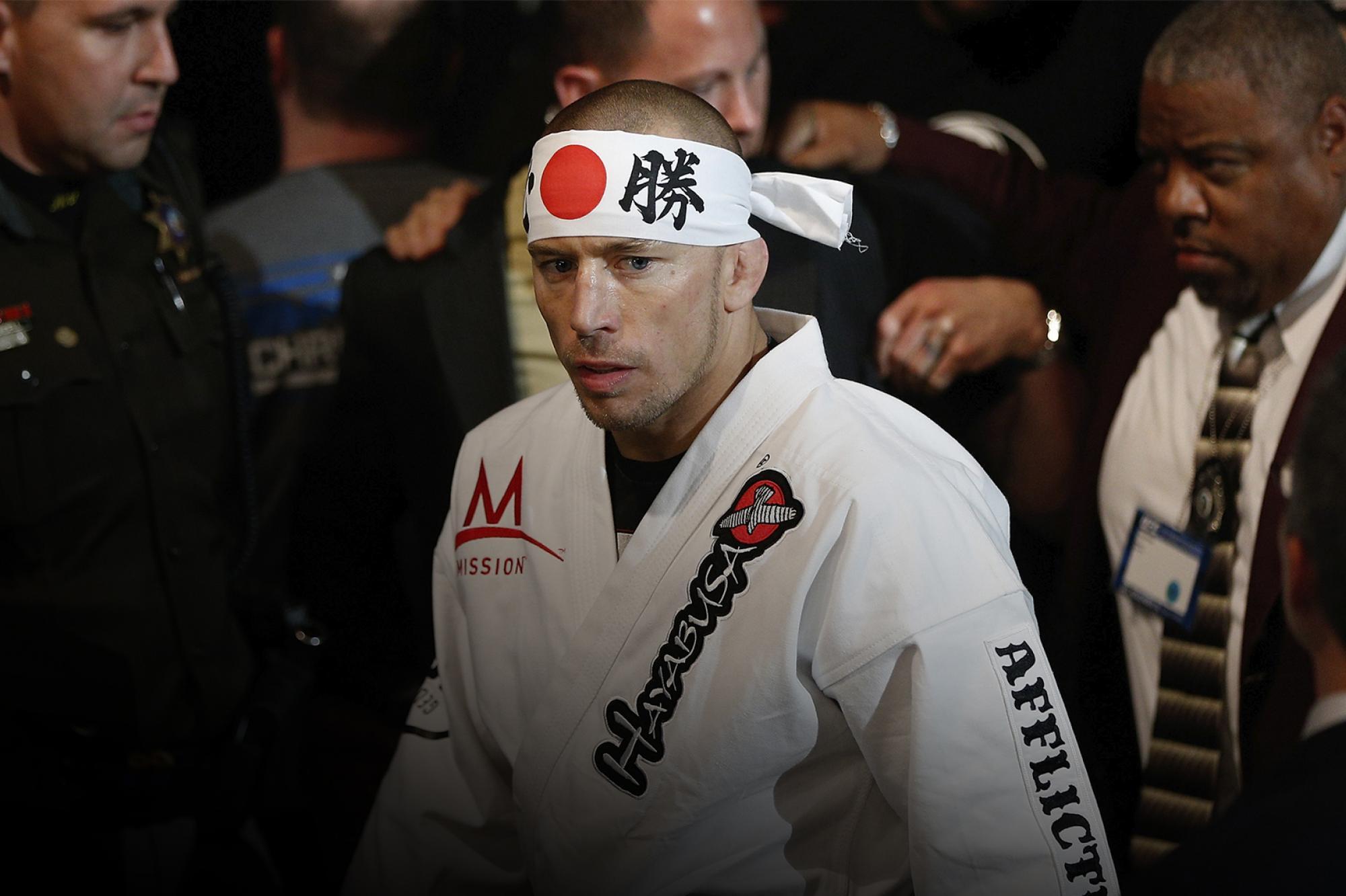 Georges St-Pierre nommé au Temple de la renommée classe de 2020    UFC