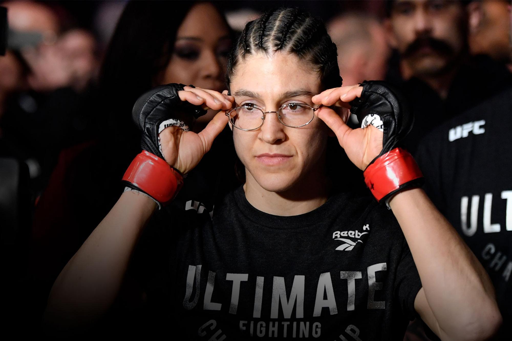 Roxanne Modafferi Won't Stop Improving   UFC