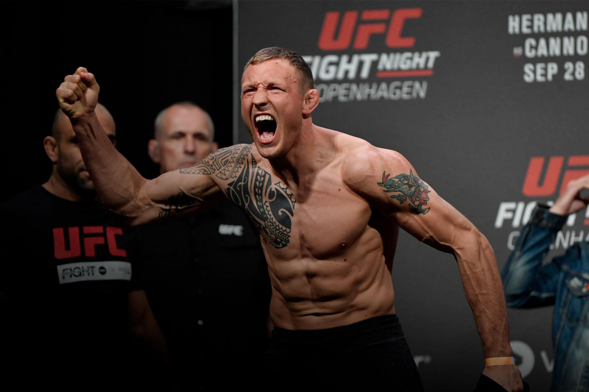 Five Questions With Jack Hermansson | UFC