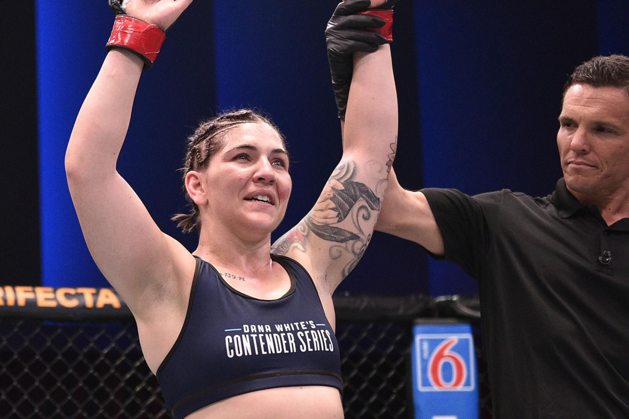 Sarah Alpar Sharpens Tools For UFC Debut | UFC
