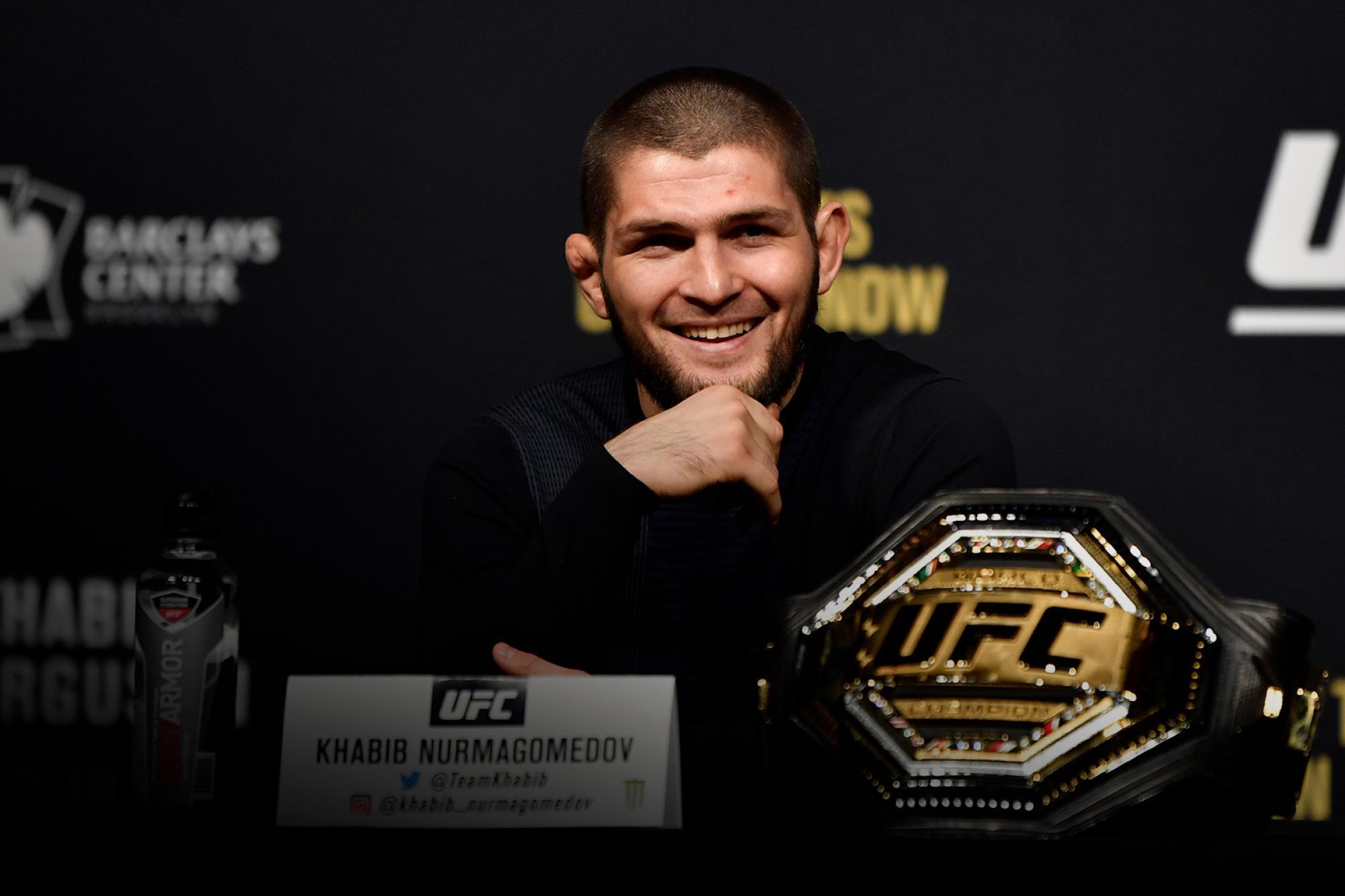 Dana White Gives An Update On Khabib Nurmagomedov | UFC