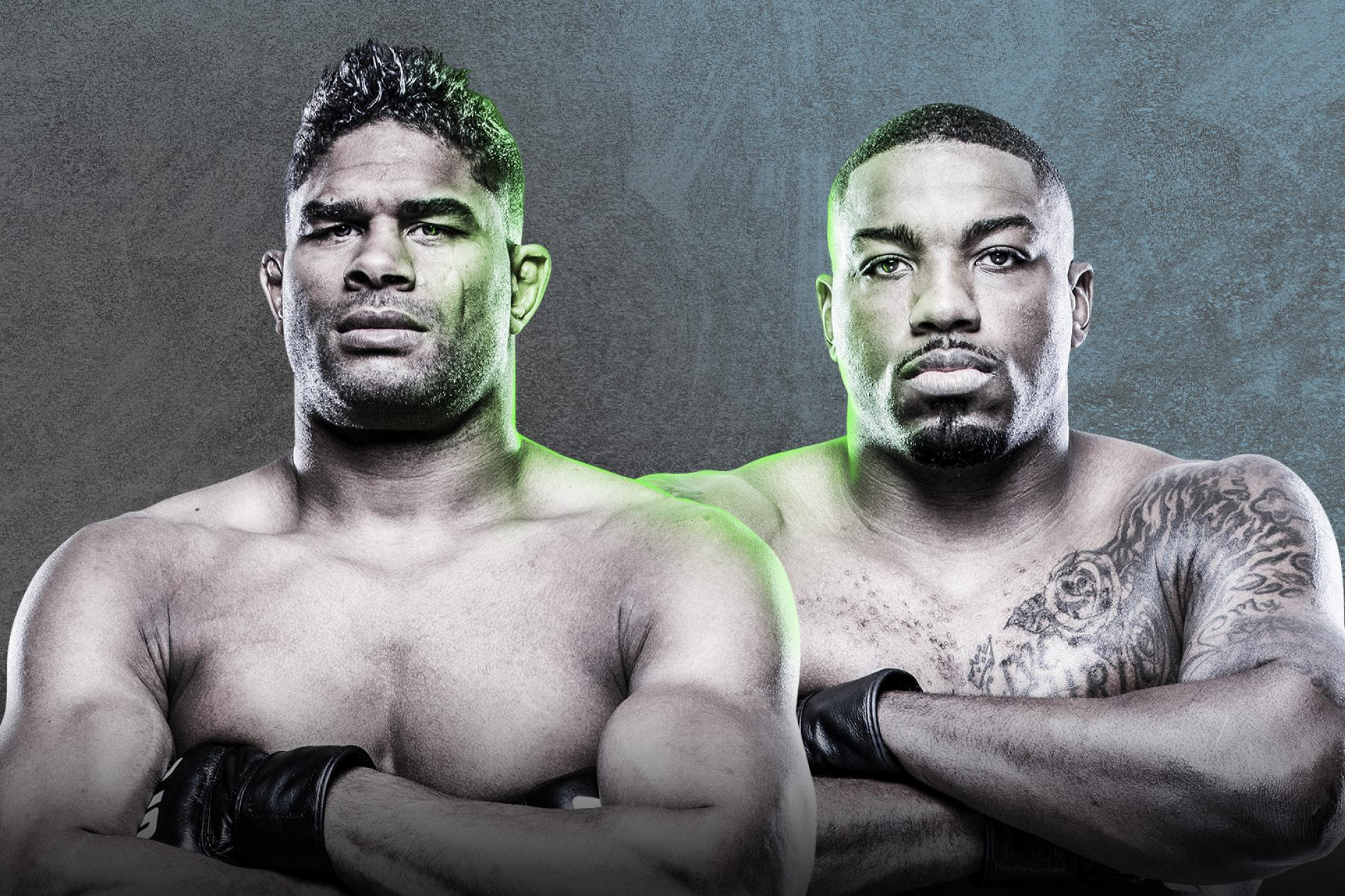 Ufc Fight Night Overeem Vs Harris Ufc