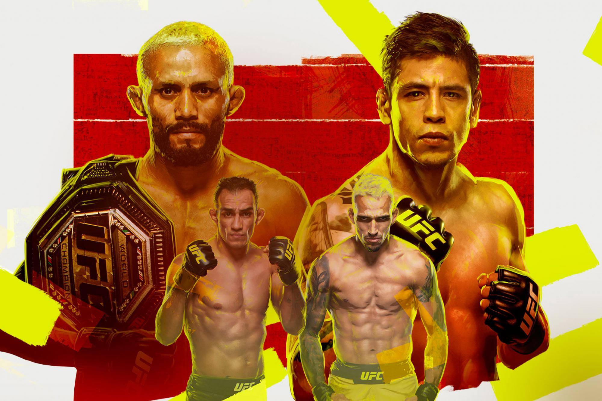 How to Watch UFC 256 - Stream links, Start times and Fight Card | UFC