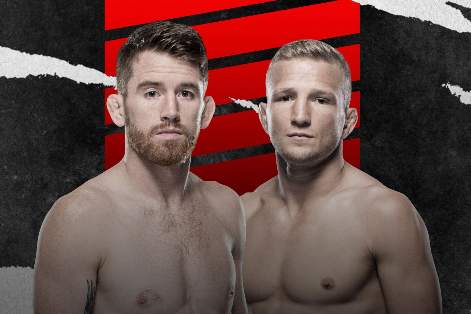 Corey Sandhagen vs TJ Dillashaw set for UFC Fight Night on Saturday, May 8