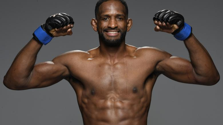 Neil Magny poses for a portrait after his victory during the UFC Fight Night event at UFC APEX on August 29, 2020 in Las Vegas, Nevada. (Photo by Mike Roach/Zuffa LLC)