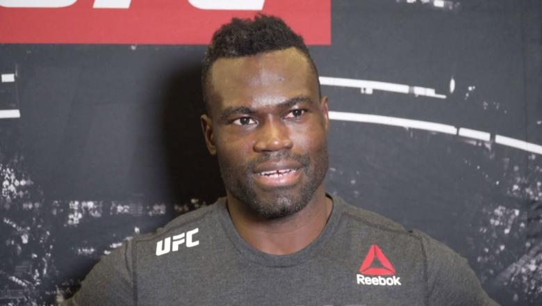 Uriah Hall talks with UFC.COM after his victory over Anderson Silva