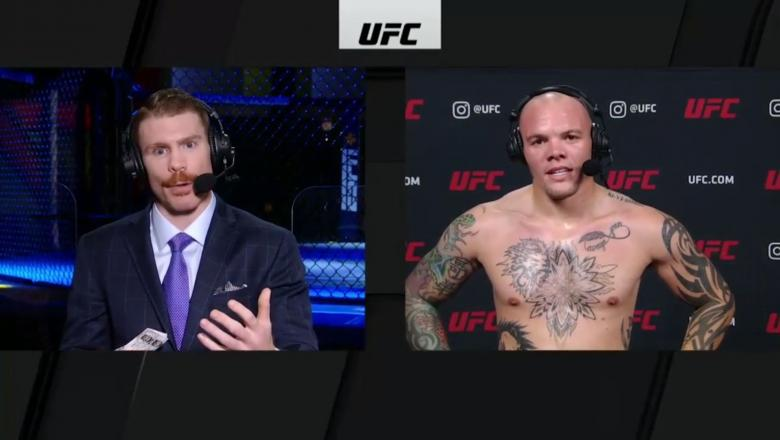 UFC Vegas 15: Anthony Smith Octagon Interview