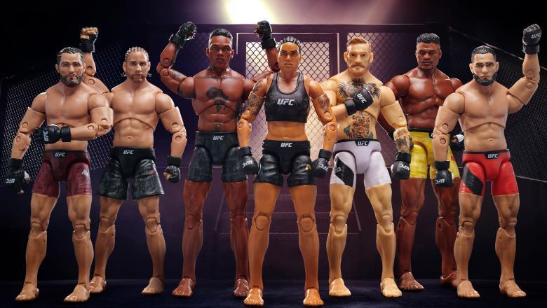 New UFC Ultimate Series Action Figures By Jazwares: Sneak Peek