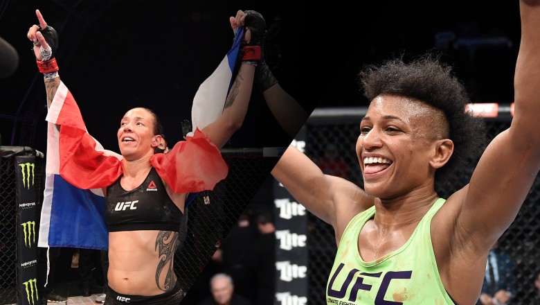 Germaine de Randamie & Angela Hill Make History