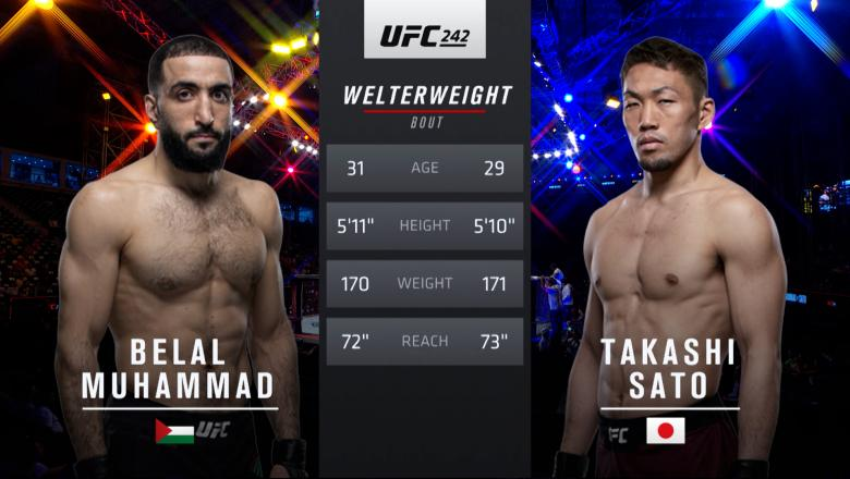 Free Fight: Belal Muhammad vs Takashi Sato