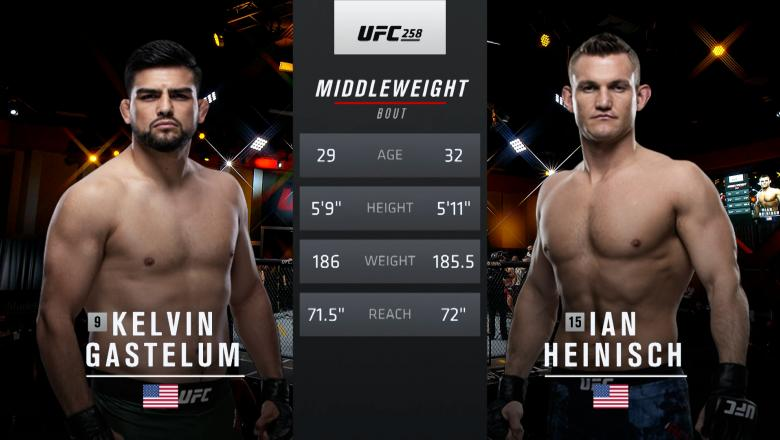 Free Fight: Kelvin Gastelum vs Ian Heinisch