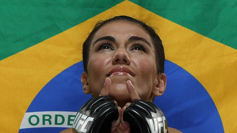 Jessica Andrade of Brazil poses for a portrait during a UFC photo session on May 08, 2019 in Rio de Janeiro, Brazil. (Photo by Buda Mendes/Zuffa LLC/Zuffa LLC via Getty Images)