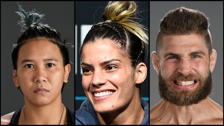 Loma Lookboonmee, Luana Pinheiro and jiri Prochazka