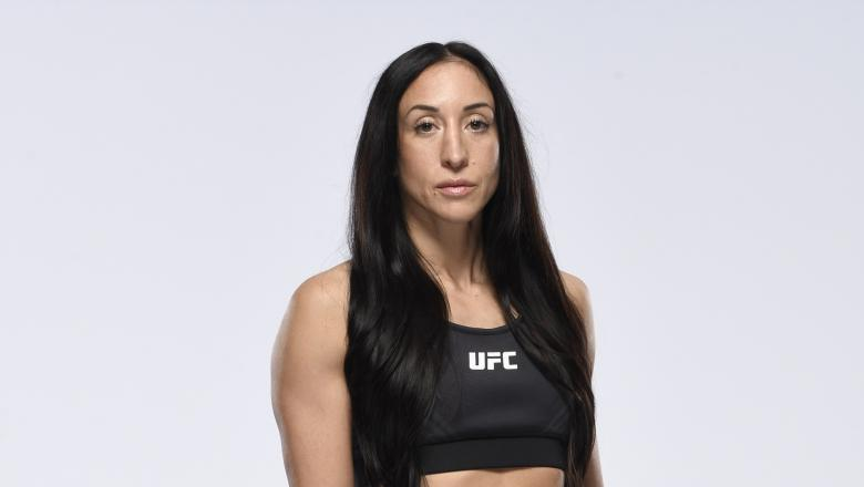 Jessica Penne poses for a portrait during a UFC photo session on April 14, 2021 in Las Vegas, Nevada. (Photo by Mike Roach/Zuffa LLC)