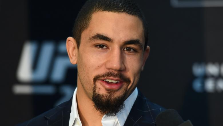 Robert Whittaker talks at UFC 225 Ultimate Media Day