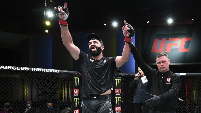 O veterano Andrei Arlovski após mais uma vitória no UFC Vegas 24