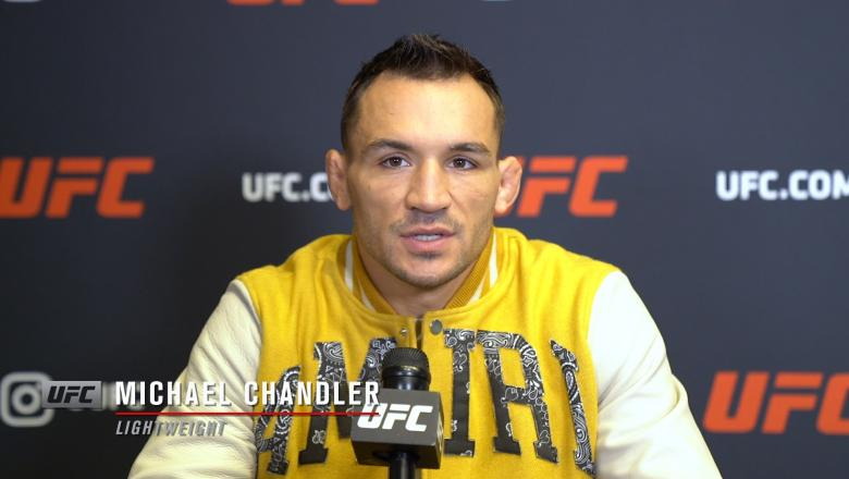 UFC lightweight title contenderMichael Chandler speaks with UFC.com ahead of his title shot against Charles Oliveira at UFC 262 in Houston on May 15, 2021