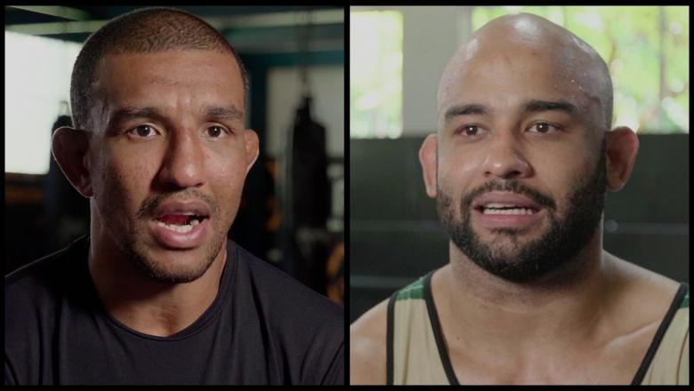 Raoni Barcelos And Warlley Alves Prepare For Their Bouts This Saturday AtUFC Fight Night: Gane vs Volkov.