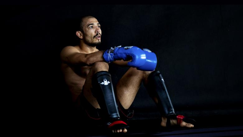 UFC Featherweight Jose Aldo of Brazil relaxes during training session at Upper Arena on January 24, 2019 in Rio de Janeiro, Brazil. Jose Aldo will fight against Renato Moicano of Brazil on February 2 at UFC Fight Night Fortaleza. (Photo by Buda Mendes / Getty Images)