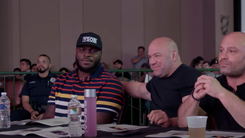 Dana White Lookin For A Fight Return To Houston