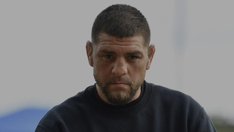 Nick Diaz arrives to the UFC 261 Weigh-In at at VyStar Veterans Memorial Arena on April 23, 2021 in Jacksonville, Florida. (Photo by Chris Unger/Zuffa LLC)