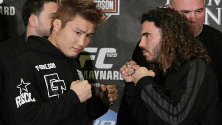 Gomi vs. Guida at the UFC 125 Pre-Fight Press Conference.