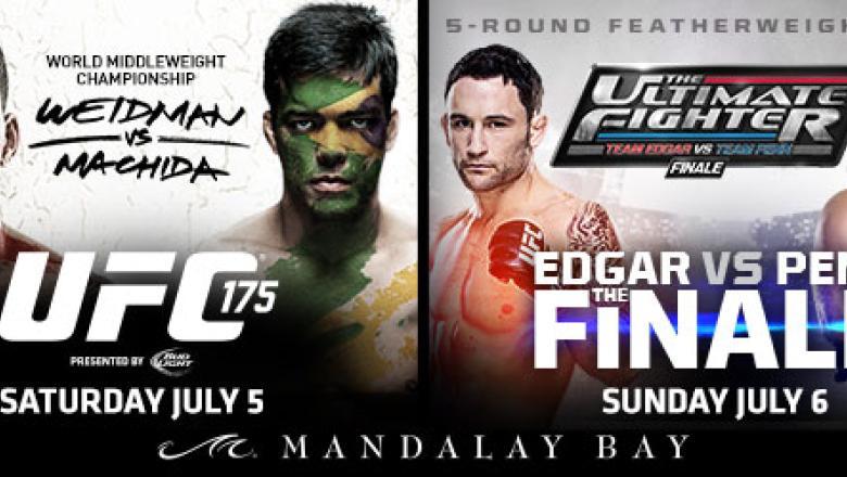 UFC 175 & TUF 19 Finale combo