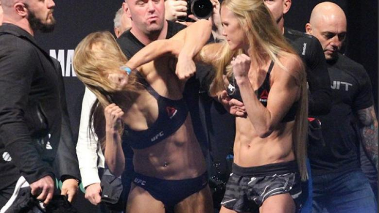 UFC 193 Ronda Rousey vs Holly Holm