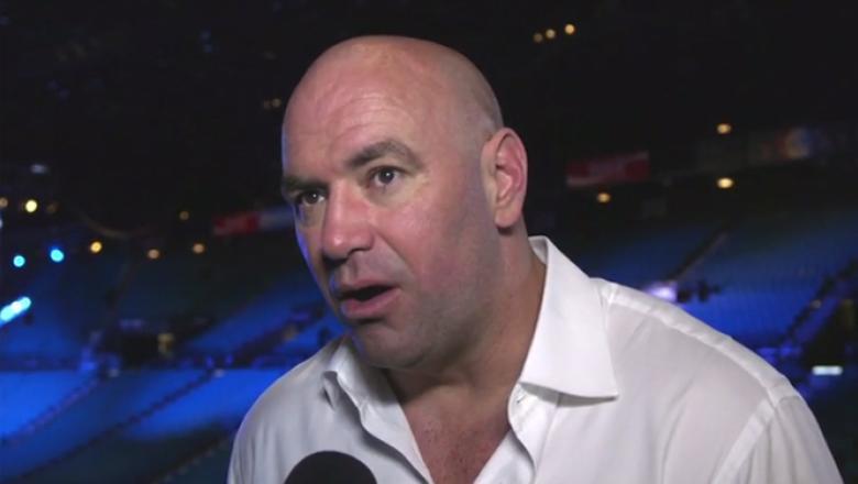 UFC 196 Dana White