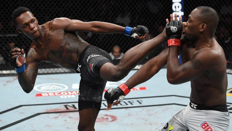 Israel Adesanya venceu no primeiro round do UFC 230
