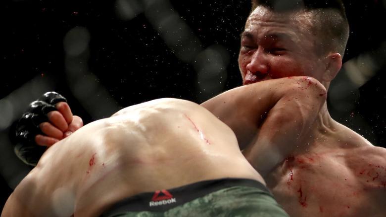 Yair Rodriguez 2018 knockout UFC Denver