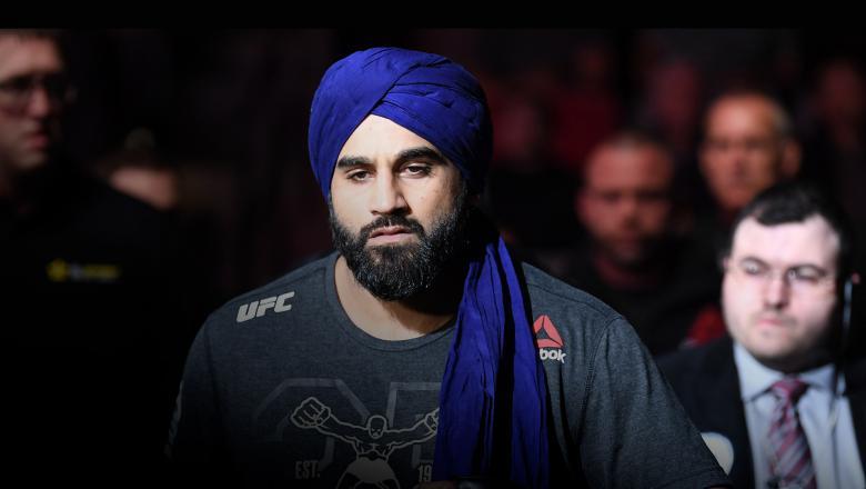 Indian fighter Arjan Bhullar
