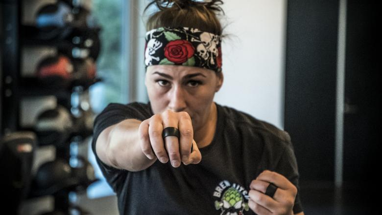 Jessica Eye UFC 238 camp at the UFC Performance Institute
