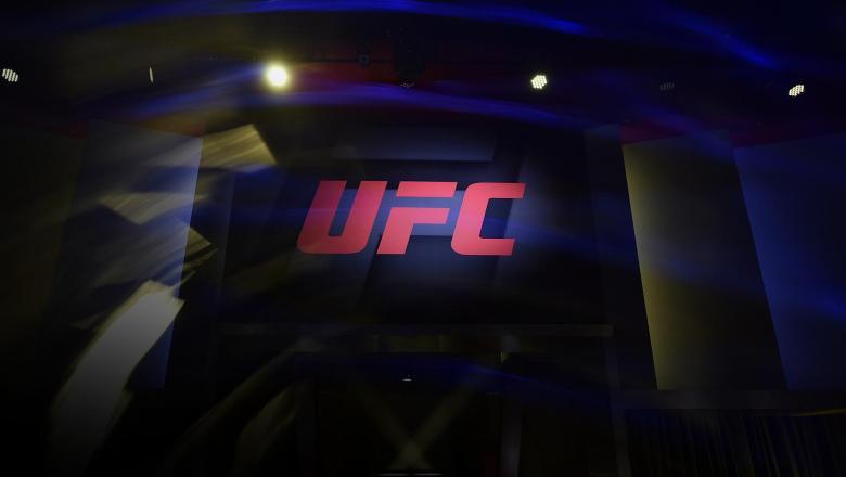 UFC Logo at UFC Apex