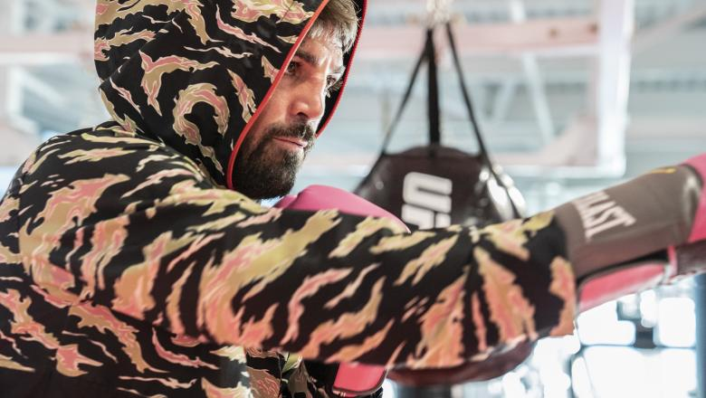 16 - Mike Perry training - UFC Fight Week June 27
