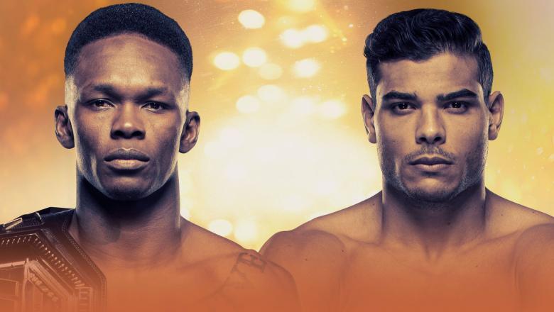 UFC 253 Adesanya vs Costa Poster