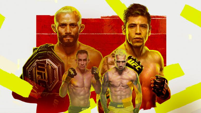 UFC 256: Figueiredo vs. Moreno takes place live from the UFC Apex on December 12 from Las Vegas