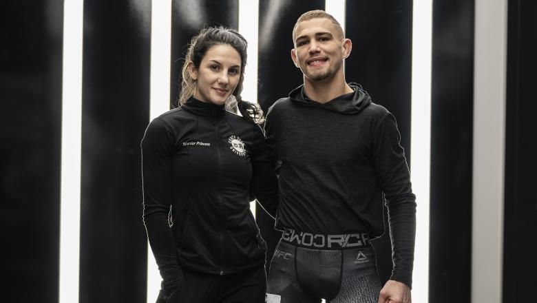 JP and Cheyanne Buys At The UFC PI