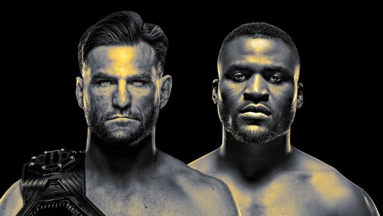 Stipe Miocic and Francis Ngannou square off for the title of heavyweight champion at UFC 260.