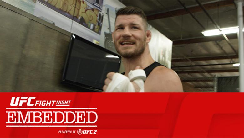 Michael Bisping UFC Fight Night London Embedded Episode 1 with text