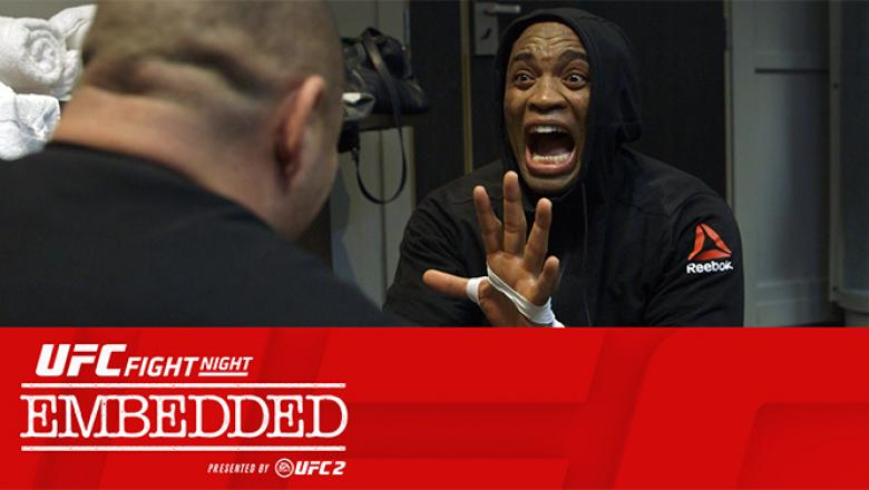 UFC Fight Night London Embedded Silva vs Bisping episode 3 texted image