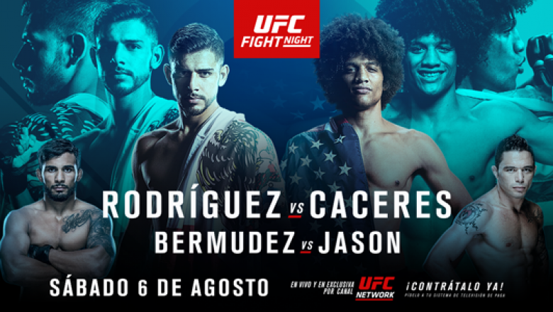 Yair Rodriguez vs Alex Caceres UFC Salt Lake City