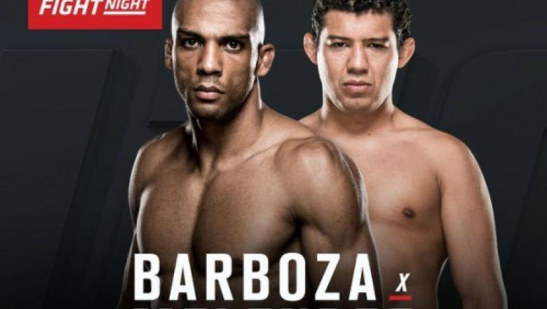 Edson Barboza vs Gilbert Melendez