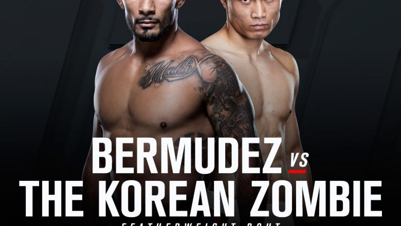 Dennis Bermudez vs Chan Sung Jung bout announcement