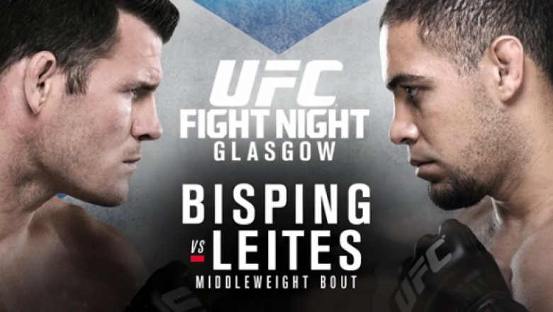 UFC Fight Night Glasgow Michael Bisping vs Thales Leites