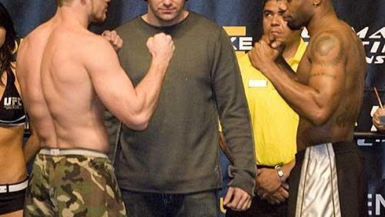 Nate Marquardt Vs. Crafton Wallace TK3 Weigh In