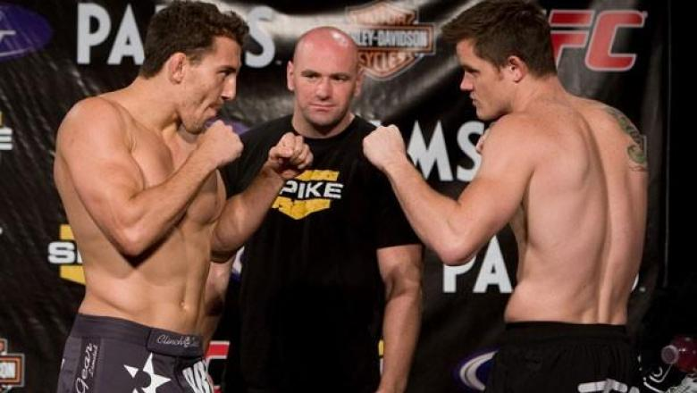 UFC Weigh-In Jesse Taylor & CB Dollaway