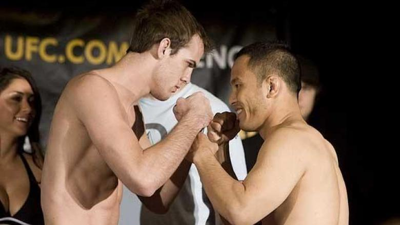 TUF5 Finale Weigh-In Andy Wang vs. Cole Miller