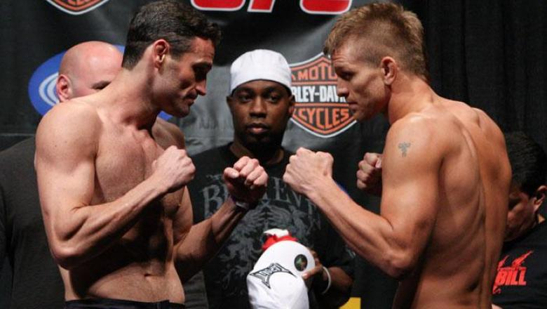UFC Fight Night Weigh-In Chris Wilson & Mike Pyle