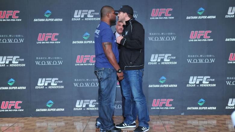 Rampage Jackson faces off with Ryan Bader